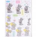 Пасхальный кролик Набор высеченных элементов для скрапбукинга, кардмейкинга Docrafts
