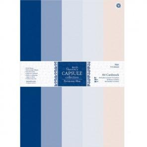Parisienne Blue Набор бумаги A4 для скрапбукинга, кардмейкинга Docrafts