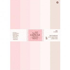 Wild Rose Набор бумаги A4 для скрапбукинга, кардмейкинга Docrafts