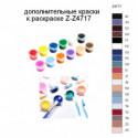 Дополнительные краски для раскраски Z-Z4717