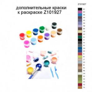 Дополнительные краски для раскраски Z101927