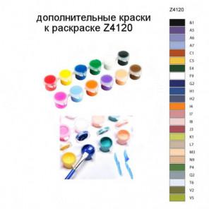 Дополнительные краски для раскраски Z4120