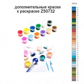 Дополнительные краски для раскраски Z50732