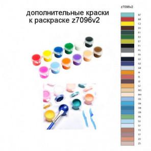 Дополнительные краски для раскраски z7096v2