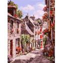 Франция. Динан Раскраска картина по номерам на картоне Белоснежка 3254-CS