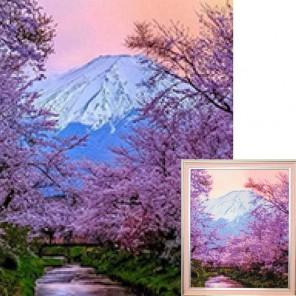 Фудзияма Алмазная вышивка (мозаика) Гранни