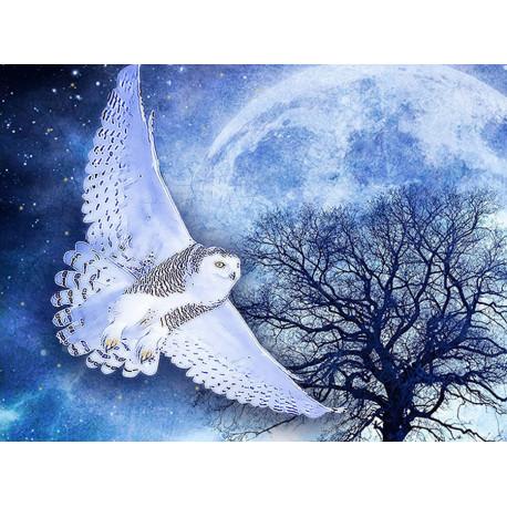 Ночная хищница Алмазная вышивка мозаика Алмазное Хобби AH5415