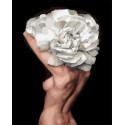 Девушка-цветок. Пора цветения Раскраска картина по номерам на холсте GX35276