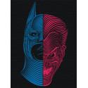Противостояние Раскраска картина по номерам на холсте с неоновыми красками AAAA-RS044-60x80