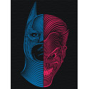 Противостояние Раскраска картина по номерам на холсте с неоновыми красками AAAA-RS044-75x100