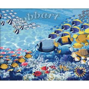 Морской Раскраска по номерам акриловыми красками на холсте Hobbart