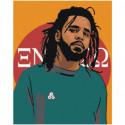 J. Cole Раскраска картина по номерам на холсте