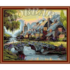 Альпийская сказка Раскраска по номерам акриловыми красками на холсте Hobbart