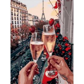 Романтический вечер Раскраска картина по номерам на холсте EX6573