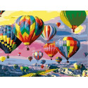 Парад воздушных шаров Раскраска картина по номерам на холсте EX6485