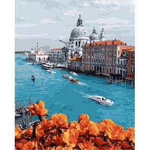 Город на воде. Венеция Раскраска картина по номерам на холсте GX31754