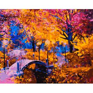 Яркая осень Раскраска картина по номерам на холсте MG2167