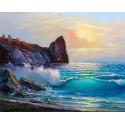 Береговые ландшафты Раскраска картина по номерам на холсте MG2169