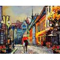 Город Европы Раскраска картина по номерам на холсте MG2159