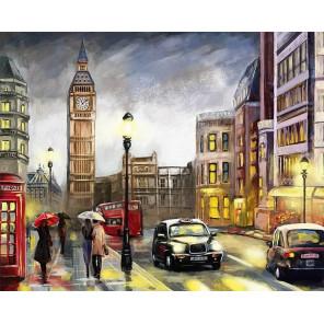 Красочный Лондон Раскраска картина по номерам на холсте MG2162