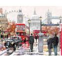 Прогулка по Лондону Раскраска картина по номерам на холсте MG2204