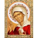 Икона Матрона Московская Набор для выкладывания алмазной мозаики АЖ-1840