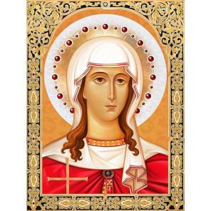 Икона Святая Татьяна Набор для выкладывания алмазной мозаики АЖ-1843