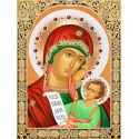 Икона Утоли Мои Печали Набор для выкладывания алмазной мозаики АЖ-1846