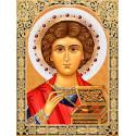Икона Пантелеймон Целитель Набор для выкладывания алмазной мозаики АЖ-1847
