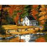 Осенние мотивы Раскраска картина по номерам на холсте GX35218