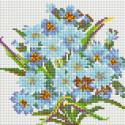 Букет Нежность Алмазная вышивка мозаика без подрамника Белоснежка 460-ST-PS