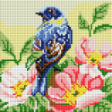 Птичка Алмазная вышивка мозаика без подрамника Белоснежка 472-ST-PS