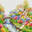 Лето Алмазная вышивка мозаика без подрамника Белоснежка 473-ST-PS