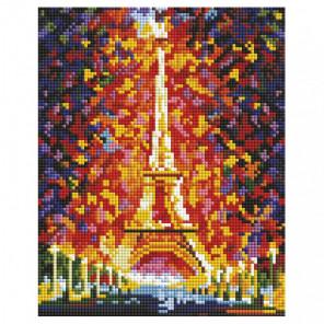 Париж - огни Эйфелевой башни Алмазная вышивка мозаика на подрамнике Белоснежка 531-ST-S