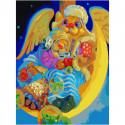 Ночной брудершафт Раскраска картина по номерам на холсте 352-AS