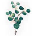 Тропическая зелень 2 Набор для вышивания Овен 1315