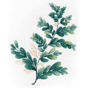 Тропическая зелень 3 Набор для вышивания Овен 1316