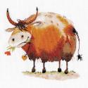 Бычок 1. Символ года Набор для вышивания Овен 1330