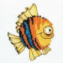 Рыбка Набор для вышивания Риолис 1166