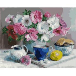 Летний чай Раскраска картина по номерам на холсте PK79026
