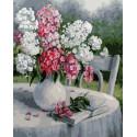 Садовая поэзия Раскраска картина по номерам на холсте PK79048
