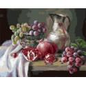 С виноградом Раскраска картина по номерам на холсте PK79047