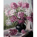 Мамины любимые цветы Раскраска картина по номерам на холсте PK79031