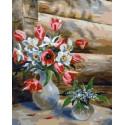 Май Раскраска картина по номерам на холсте PK79028