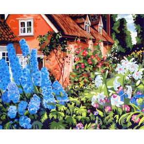 Бабушкин садик Раскраска картина по номерам на холсте MG014