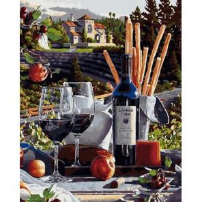 Вкус солнечной Италии Раскраска картина по номерам на холсте МСА420