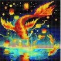 Золотая рыбка Алмазная вышивка мозаика на подрамнике UС222