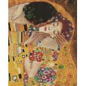 Поцелуй. Густав Климт Алмазная вышивка мозаика на подрамнике UA322