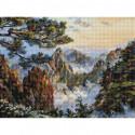 Китай. Хуаншань Алмазная вышивка мозаика на подрамнике 518-ST-S