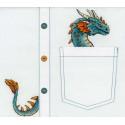 Благородный дракон Набор для вышивания МП Студия В-252
